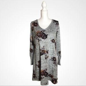 Maurices Floral Sweater Dress